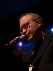 Bruce Singing at Museum